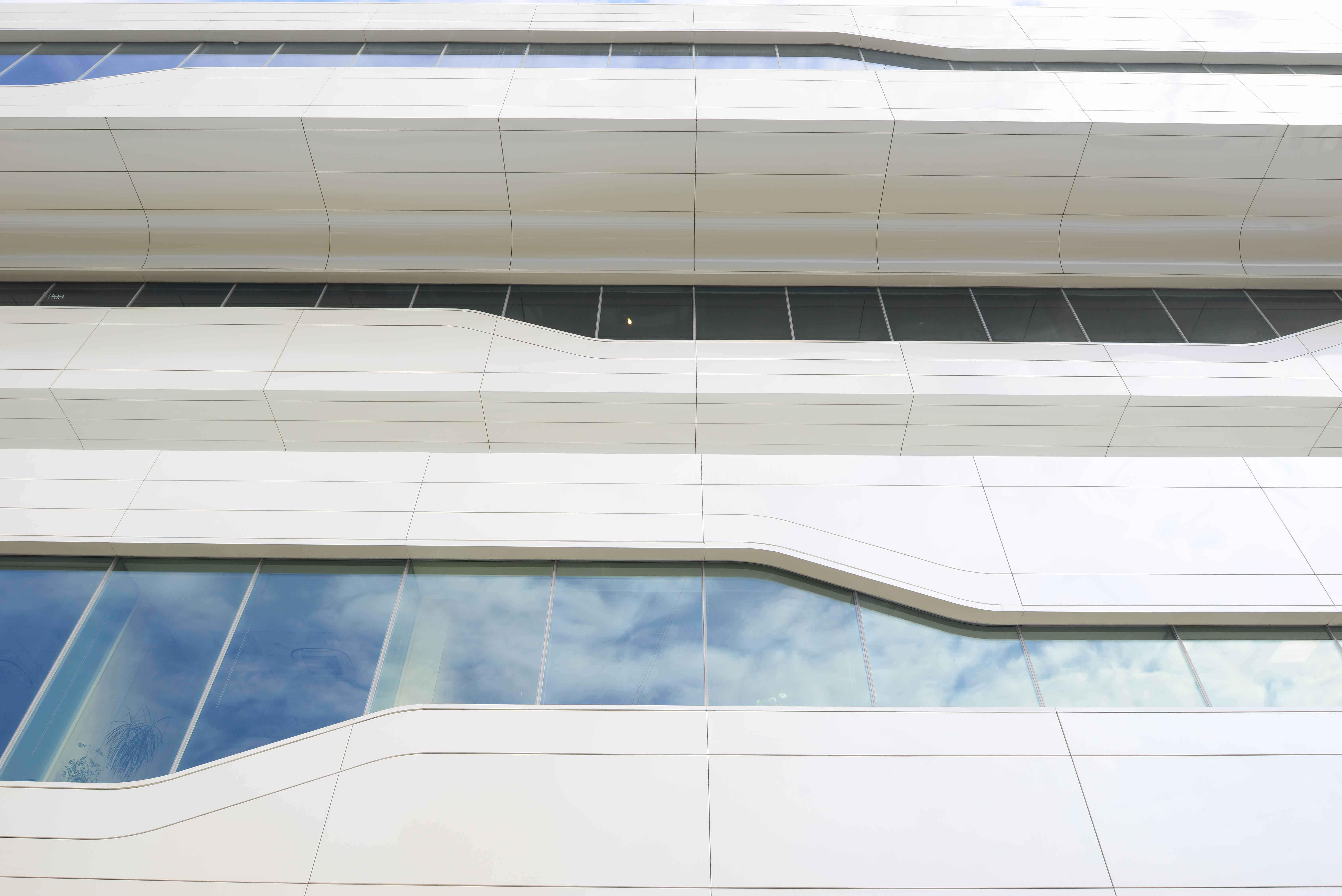 Первая в Москве постройка от Захи Хадид | галерея [1] фото [2]