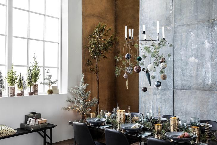 Сервировка новогоднего стола 2019: советы флориста и декоратора (фото 9)