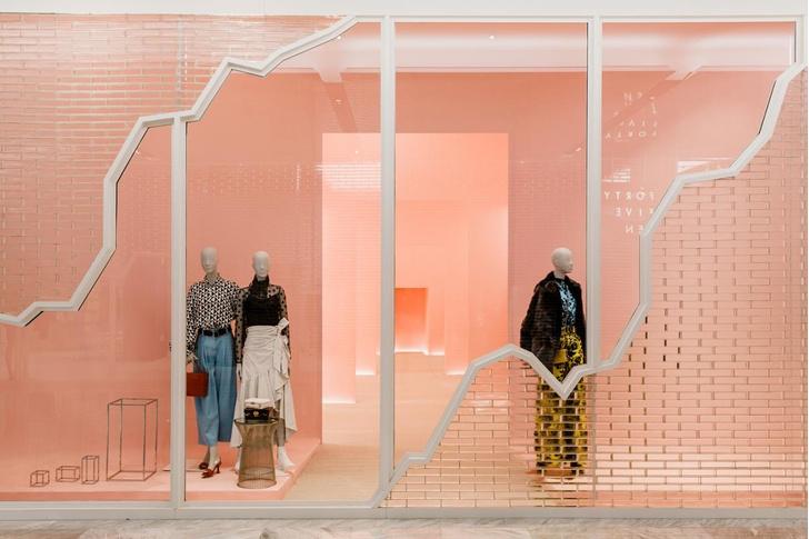 Яркий и необычный бутик по проекту Snarkitecture (фото 0)