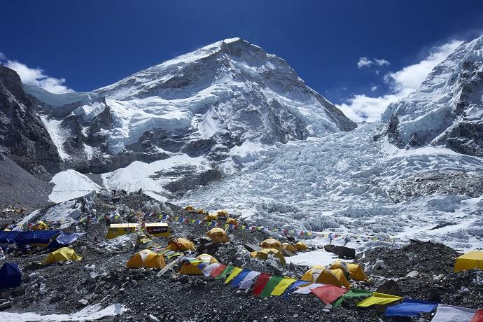 Ночевка у подножия Эвереста