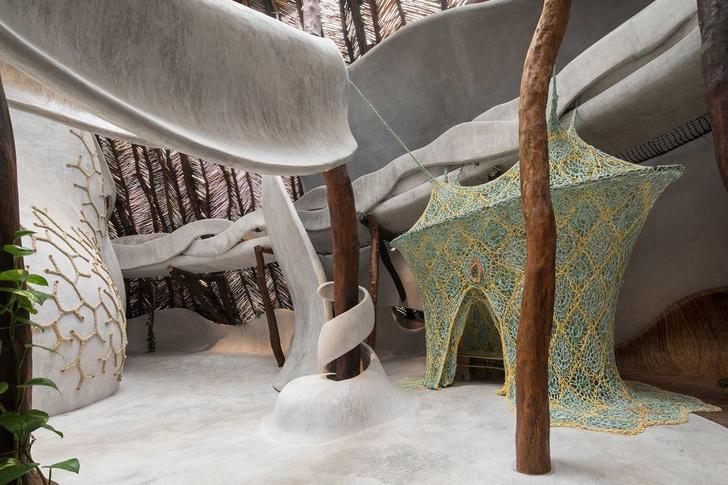 Отель Azulik с pop-up бутиком Dior в джунглях Тулума (фото 11)