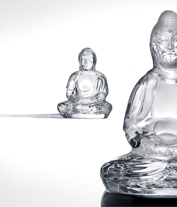 Фигурка Будды из коллекции Lumière d'Asie, дизайн Кензо Такады, 2006 год.