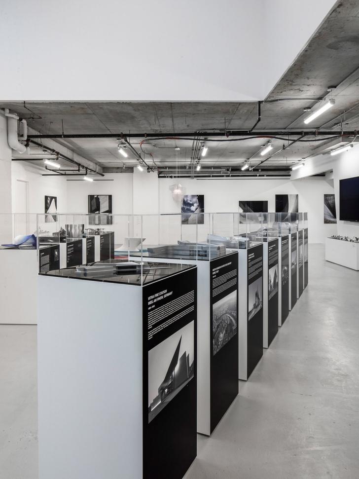 Экспозиция Zaha Hadid Gallery в Нью-Йорке (фото 6)