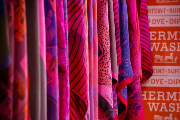 Мини-прачечная HermèsMatic откроется в Москве
