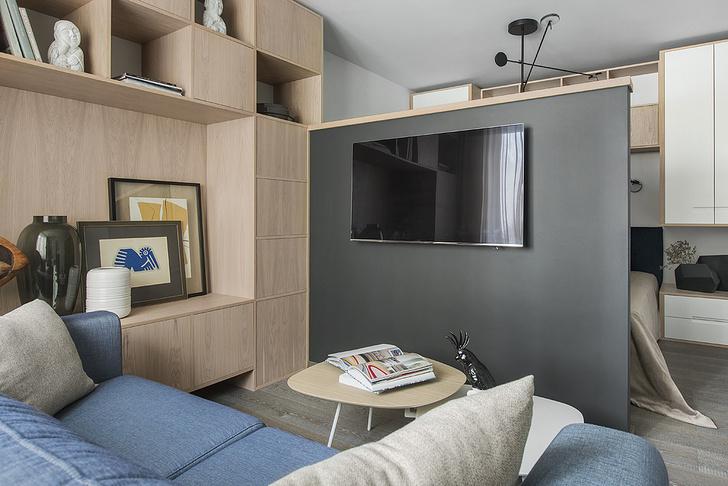 Квартира 38 м² для отдыха после работы (фото 14)