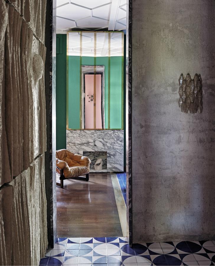 Связь времен: эклектичная квартира в Милане (фото 7)