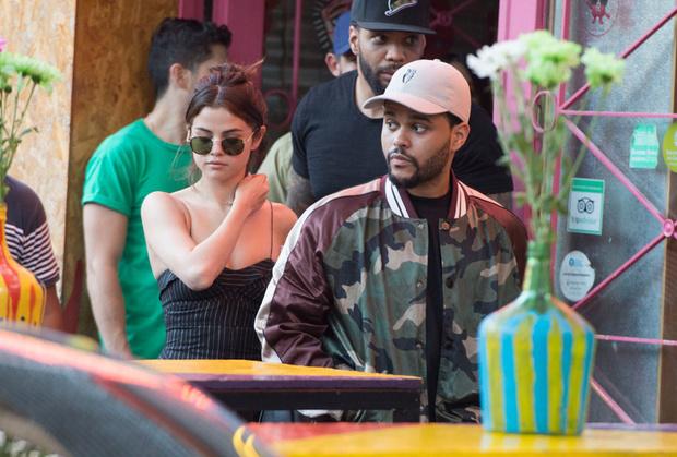 The Weeknd и Селена Гомес на отдыхе