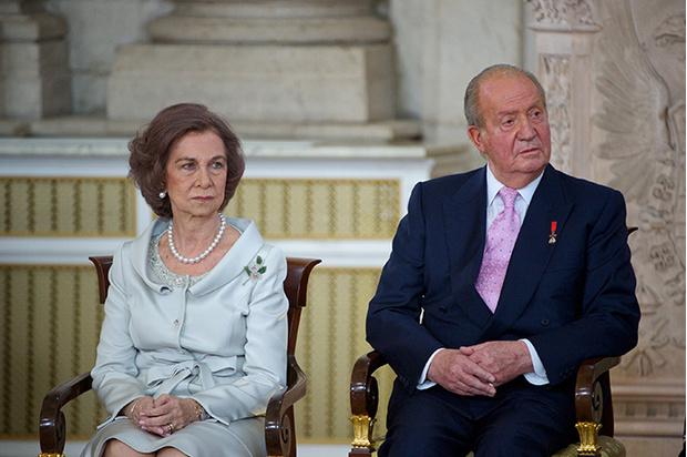 Экс-король Испании Хуан Карлос и принцесса София