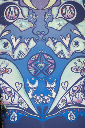 Показ Anna Sui коллекции сезона Весна-лето 2015 года prêt-à-porter - www.elle.ru - Подиум - фото 586917