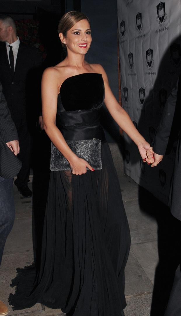 Черное платье-бюстье: фото
