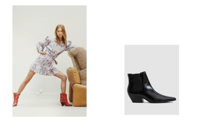 Как сочетать длину юбок с зимней обувью (фото 10)