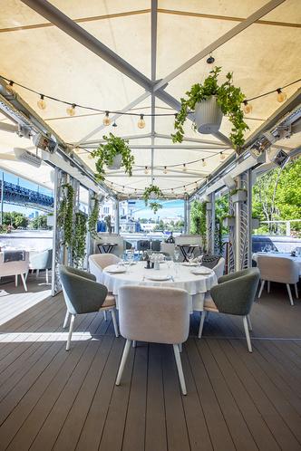 Оазис в городских джунглях: терраса видового ресторана Pescatore (фото 1.2)