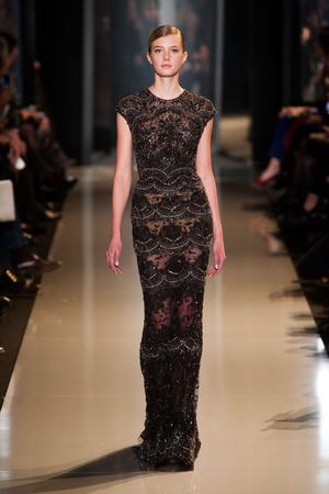 Показ Elie Saab коллекции сезона Весна-лето 2013 года Haute couture - www.elle.ru - Подиум - фото 480394