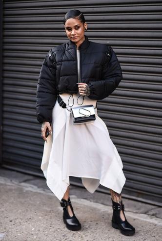 Что носят на Неделе моды в Нью-Йорке: 12 стритстайл-трендов (фото 16.2)