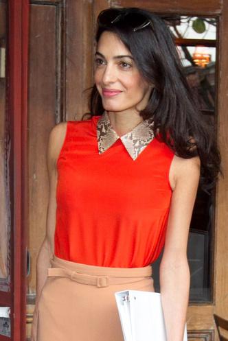 Жена Джорджа Клуни Амаль: фото