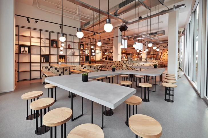 Кафе в Амстердаме от Studio Akkerhuis (фото 5)