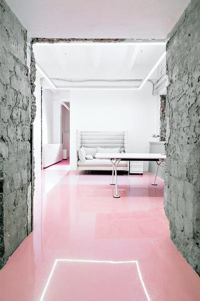 Жизнерадостный интерьер офиса: проект в деталях | галерея [1] фото [6]