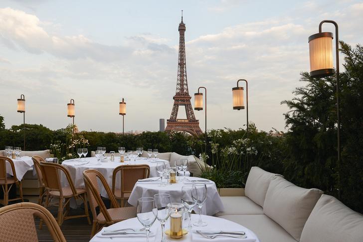 Ресторан Girafe по дизайну Жозефа Дирана в Париже (фото 5)