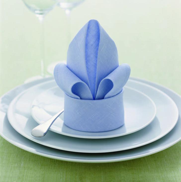 Как сложить салфетки для сервировки стола (фото 9)