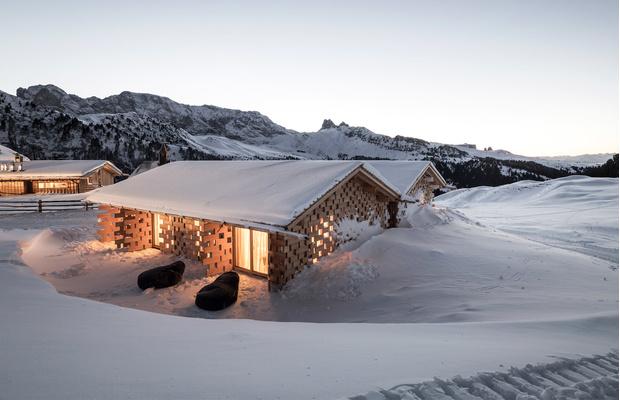Хит-парад: дизайнерские отели на горнолыжных курортах (фото 1)