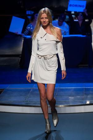 Показы мод Jean Paul Gaultier Весна-лето 2014 | Подиум на ELLE - Подиум - фото 3658