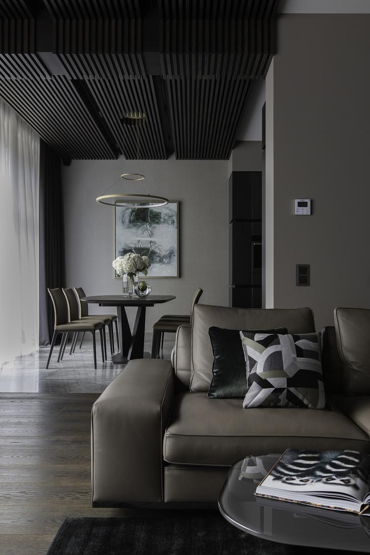 Сдержанная роскошь: дом 500 м² в Подмосковье (фото 9)