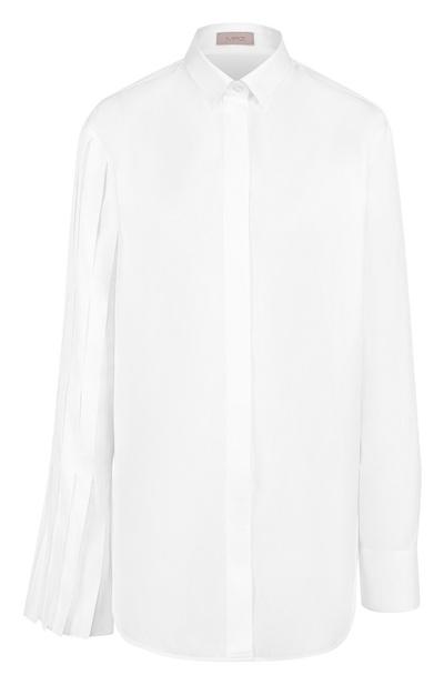 5 способов носить белую рубашку-оверсайз (галерея 4, фото 0)