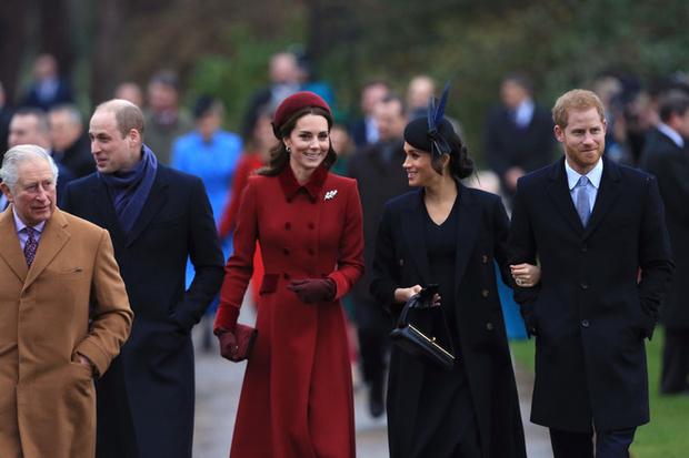 Как Уильям и Кейт поздравили Меган и Гарри с рождением малыша (фото 1)