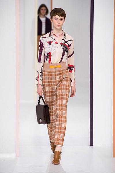 Вещи вне времени и вне тенденций в новой коллекции Hermès | галерея [1] фото [1]