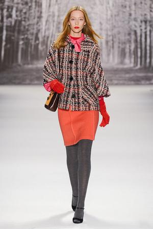 Показ Milly by Michelle Smith коллекции сезона Осень-зима 2011-2012 года Prêt-à-porter - www.elle.ru - Подиум - фото 234650