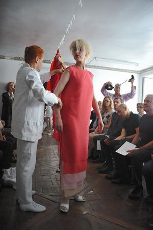 Показ Adeline Andre коллекции сезона Осень-зима 2009-2010 года Haute couture - www.elle.ru - Подиум - фото 87047