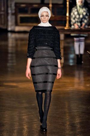 Показы мод Thom Browne Осень-зима 2011-2012 | Подиум на ELLE - Подиум - фото 2372