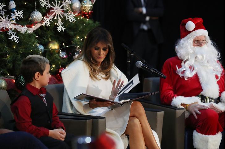 Как Мелания Трамп готовится к Рождеству (фото 3)
