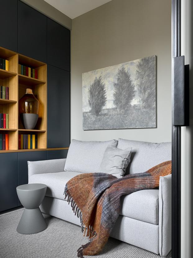 Брутальная квартира 78 м² с элементами минимализма (фото 17)