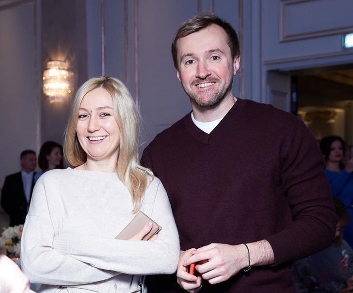 Екатерина Замковая (Sparkle PR & Communications) и Вадим Макаров (Coty)