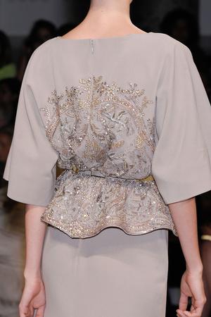 Показ Elie Saab коллекции сезона Осень-зима 2012-2013 года haute couture - www.elle.ru - Подиум - фото 404896