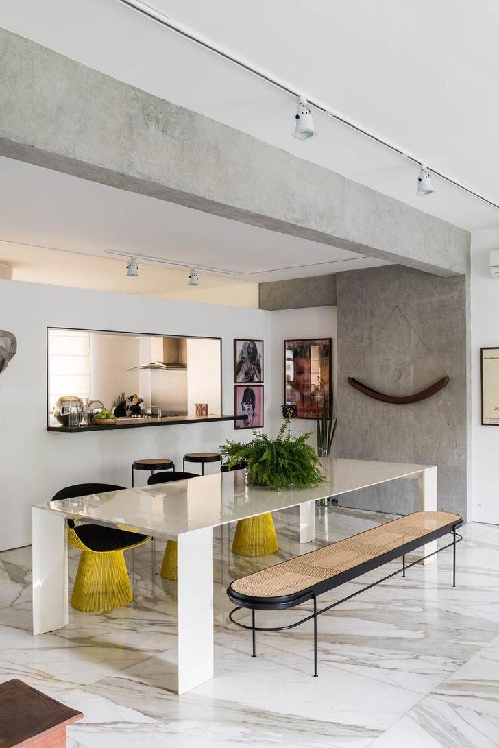 Квартира с предметами искусства в Сан-Паулу (фото 14)