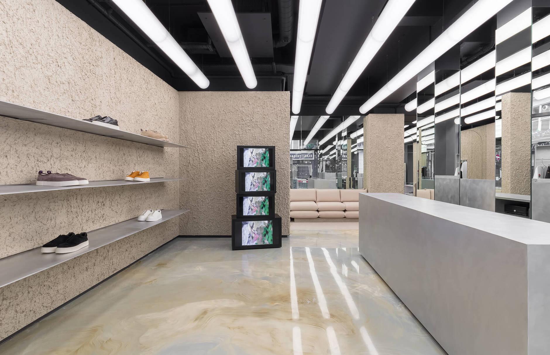 Минималистичный бутик в Лондоне (галерея 7, фото 0)