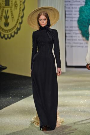Показы мод Ulyana Sergeenko Весна-лето 2013 | Подиум на ELLE - Подиум - фото 956