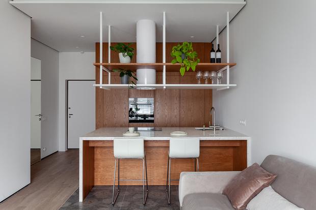 Квартира 44 м² для успешного бизнесмена от студии MAST (фото 5)