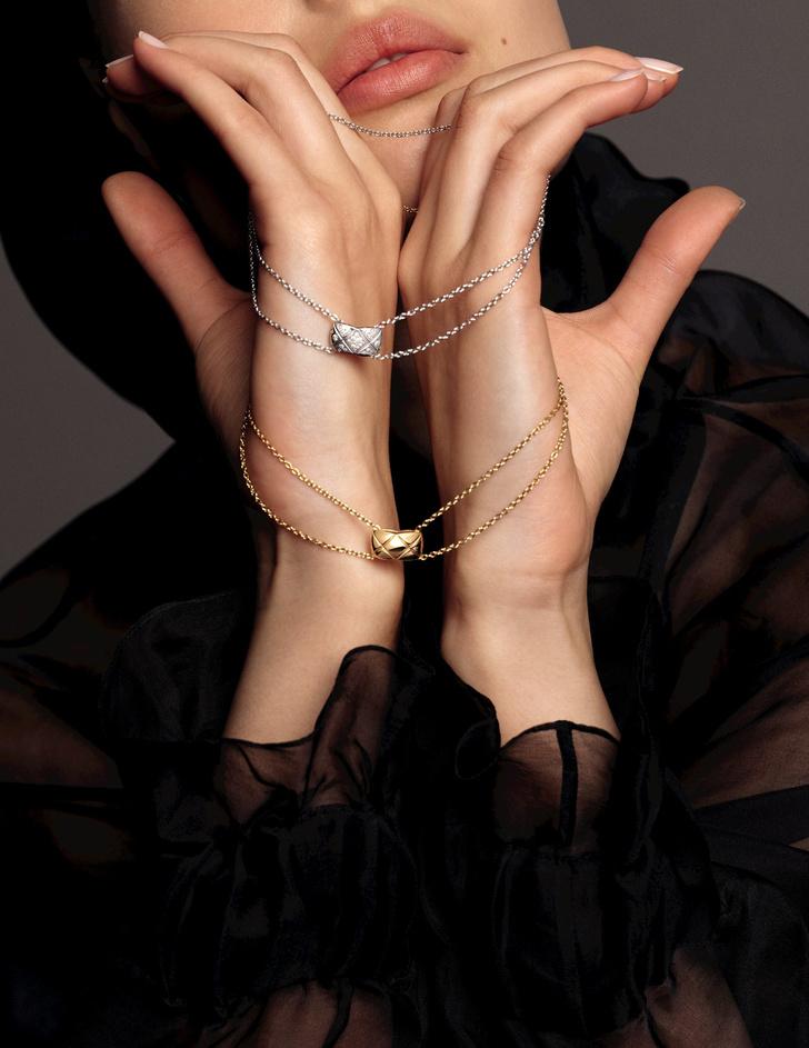 Только по любви: украшения из новой коллекции Chanel Coco Crush (фото 10)