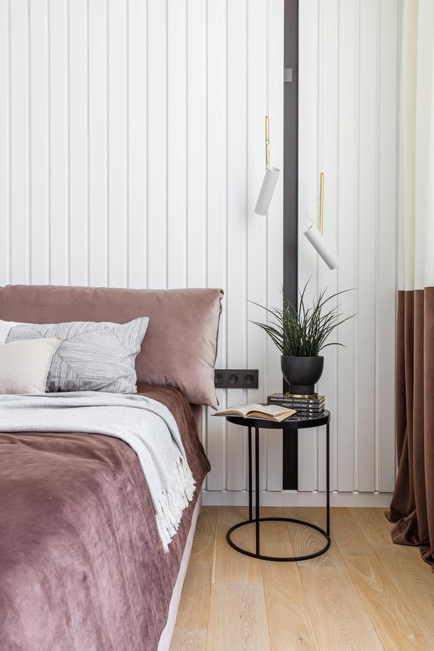 Минималистичная квартира 100 м² в Краснодаре (фото 11)