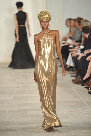 Показы мод Ralph Lauren Весна-лето 2009 | Подиум на ELLE - Подиум - фото 3385