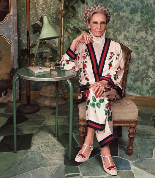 В новой рекламе Gucci снялись римские фрики, пенсионеры и дочь Катрин Денев | галерея [1] фото [19]
