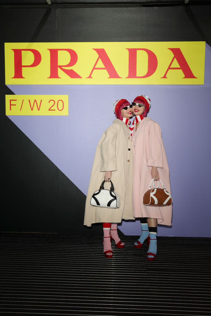 Барбара Палвин, Джильда Амбросио, Кьяра Ферраньи и другие гости показа Prada Menswear Fashion Week (фото 2)
