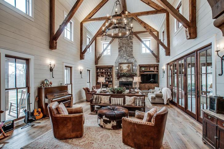 Новый дом Майли Сайрус в Теннеси