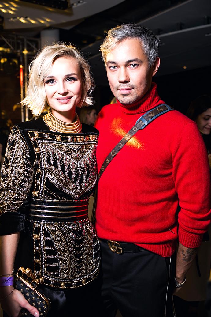 Полина Гагарина и Александр Рогов