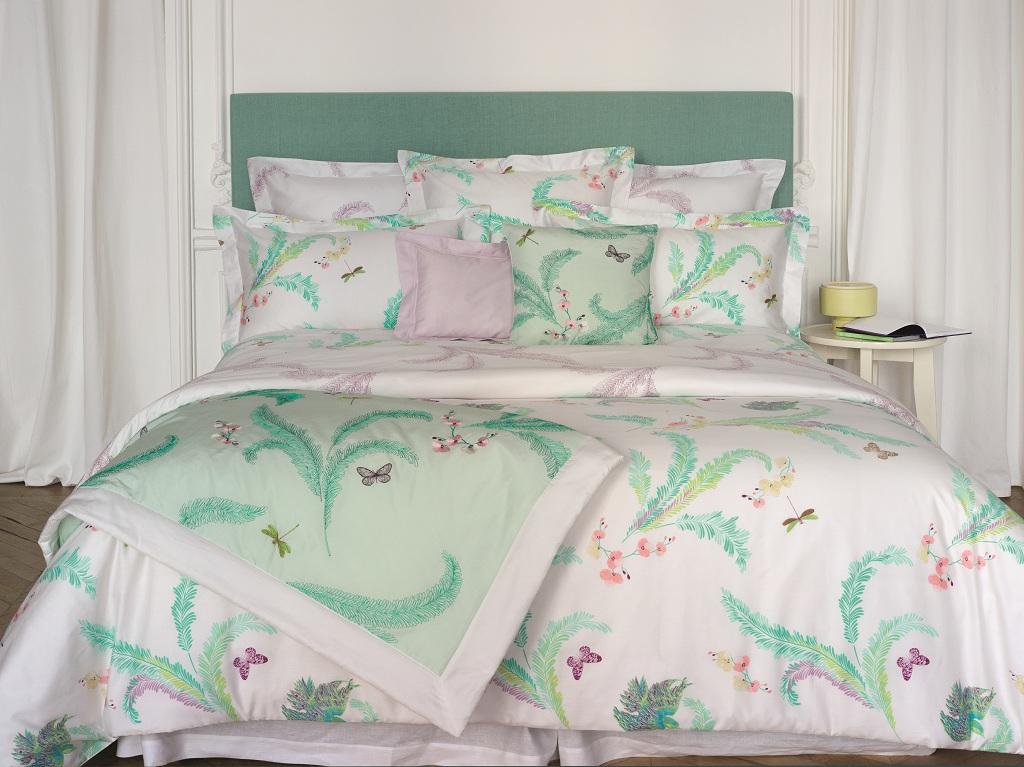 Цветущий вид: новая коллекция постельного белья Yves Delorme | галерея [1] фото [4]