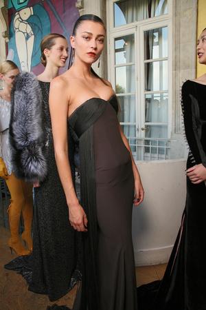 Показ Alexis Mabille коллекции сезона Осень-зима 2011-2012 года haute couture - www.elle.ru - Подиум - фото 277159