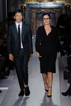 Показ Valentino коллекции сезона Весна-лето 2013 года Haute couture - www.elle.ru - Подиум - фото 480757